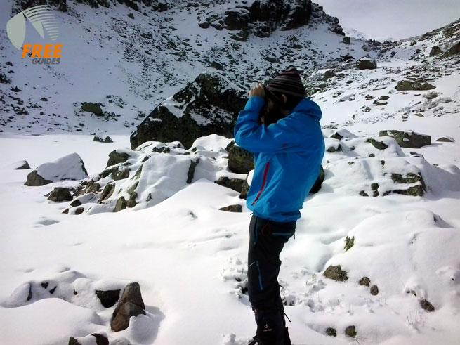 Ignacio es cazado tomando un fotografía en la laguna del Trampal