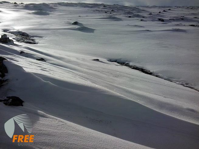 La nevada caída en los últimos días nos dibujo un paisaje maravilloso